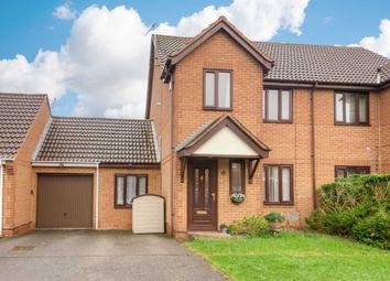 Thumbnail 3 bed semi-detached house for sale in Wistmans, Furzton, Milton Keynes