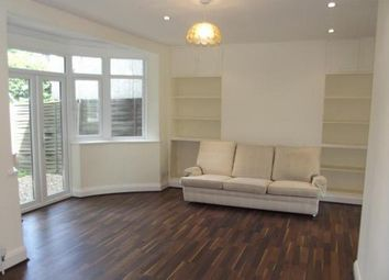 Thumbnail 3 bed terraced house to rent in The Fairway, Northolt, Middlesex