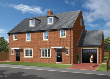 Thumbnail 4 bed semi-detached house for sale in 'the Olive', Plot 13, Park View, Brierley, Barnsley