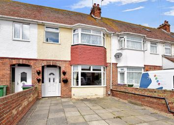 Thumbnail 3 bed terraced house for sale in Kings Road, Folkestone, Kent