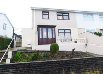 Thumbnail 3 bed semi-detached house for sale in St. Gwladys Avenue, Bargoed
