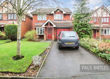 Thumbnail 4 bed detached house for sale in Turner Drive, Urmston, Manchester