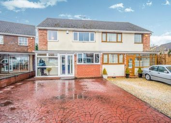 Thumbnail 4 bedroom semi-detached house for sale in Caernarvon Close, Short Heath, Willenhall, West Midlands