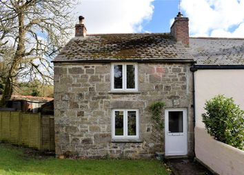 Thumbnail 2 bed end terrace house for sale in Trenear, Wendron, Nr. Helston