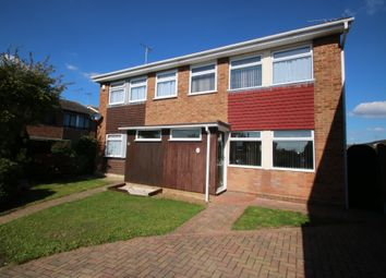 Thumbnail 3 bed semi-detached house for sale in Cornwall Gardens, Ashingdon, Rochford