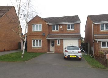 Thumbnail 4 bed detached house to rent in Little Holland Gardens, Nuthall, Nottingham