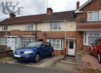 Thumbnail 3 bedroom terraced house for sale in Downside Road, Erdington, Birmingham
