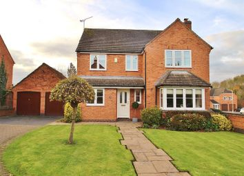 Thumbnail 4 bed detached house for sale in Lanesborough Drive, Thurcaston, Leicestershire