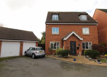 Thumbnail 5 bed detached house for sale in Irwin Road, Blyton, Gainsborough