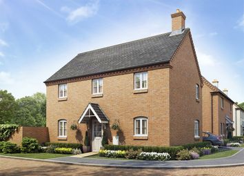 "Thumbnail 4 bedroom detached house for sale in ""The Harewood"" at Towcester Road, Old Stratford, Milton Keynes"