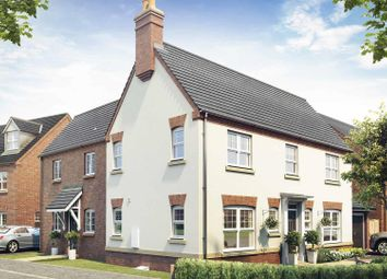 Thumbnail 4 bed detached house for sale in Hastings Manor, Hugglescote, Leicestershire