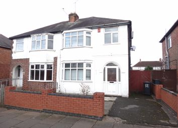 Thumbnail 3 bed semi-detached house for sale in Yorkshire Road, Belgrave, Leicester