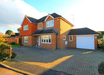 Thumbnail 4 bed detached house for sale in Bedford Crescent, Frimley Green, Camberley