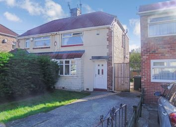 Thumbnail 2 bed semi-detached house for sale in Mitford Gardens, Gateshead