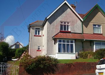 Thumbnail 3 bed semi-detached house to rent in Lon Mafon, Sketty, Swansea.