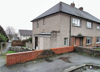 Thumbnail 2 bedroom flat for sale in Gelli Dawel, Caewern, Neath, West Glamorgan.