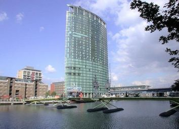 Thumbnail 1 bedroom flat to rent in Hertsmere Road, Canary Wharf, London