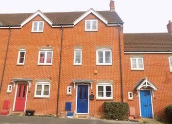 Thumbnail 4 bed terraced house for sale in Tippett Avenue, Swindon