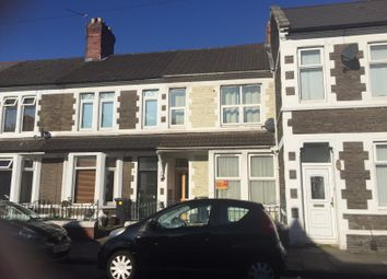Thumbnail 3 bed terraced house for sale in Moorland Road, Splott, Cardiff