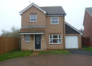 Thumbnail 3 bed detached house to rent in Oxfield Drive, Gorefield, Wisbech