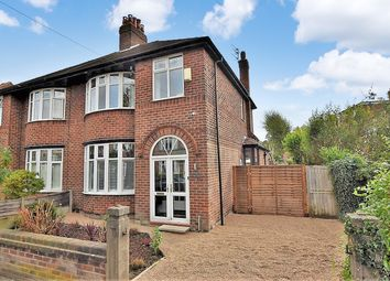 Thumbnail 3 bed semi-detached house for sale in Brooklawn Drive, Didsbury, Manchester