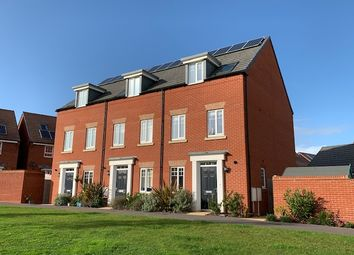 Thumbnail 4 bed town house for sale in Peppercombe Avenue, Exeter