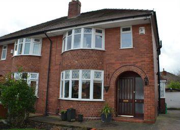 Thumbnail 3 bed semi-detached house for sale in Wilmot Avenue, Great Sankey, Warrington