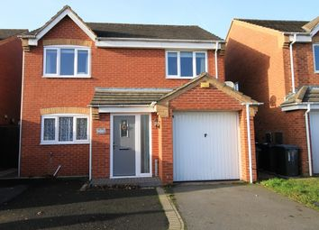 Thumbnail 4 bed detached house to rent in Stadium Close, Coalville