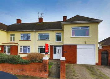 Thumbnail 4 bed semi-detached house for sale in Barons Court Road, Penylan, Cardiff