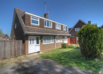 Thumbnail 3 bedroom semi-detached house for sale in Hunter Drive, Bletchley, Milton Keynes