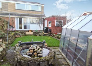 Thumbnail 3 bed semi-detached house for sale in Hollinside Close, Whickham, Newcastle Upon Tyne