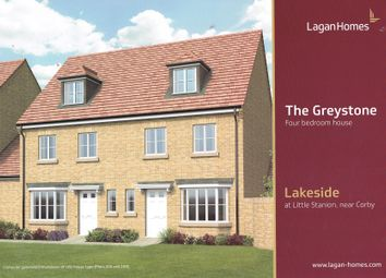 Thumbnail 4 bed semi-detached house for sale in Savernake Drive Little Stanion, Corby