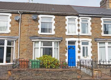Thumbnail 4 bed terraced house for sale in Brynavon Terrace, Hengoed