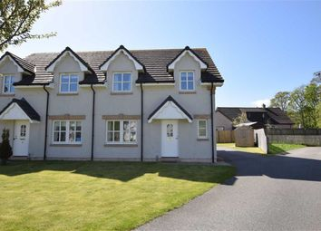 Thumbnail 3 bed semi-detached house for sale in Bridgend Close, Dingwall, Ross-Shire