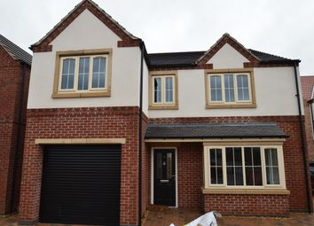 Thumbnail 4 bed detached house for sale in Sovereign Court, Sprotbrough, Doncaster