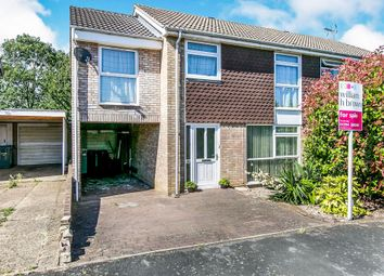Thumbnail 4 bed semi-detached house for sale in Orchard Close, Woodbridge