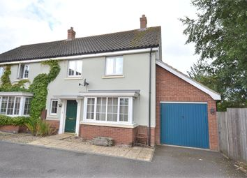 Thumbnail 3 bed semi-detached house for sale in Deas Road, South Wootton, King's Lynn