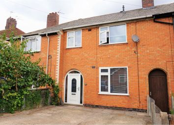 Thumbnail 3 bed terraced house for sale in Swannington Road, Leicester