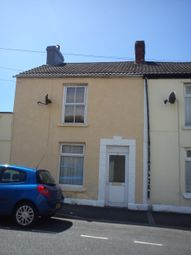 Thumbnail 2 bed end terrace house to rent in Burrows Road, Sandfields, Swansea