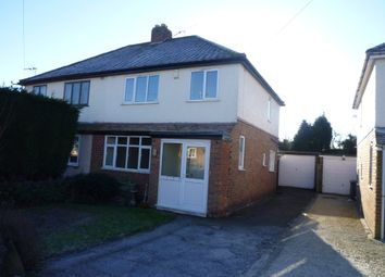 Thumbnail 3 bed semi-detached house to rent in School Lane, Whitwick, Leicestershire