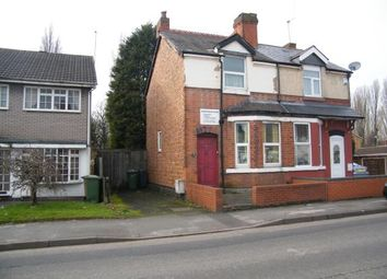 Thumbnail 2 bed semi-detached house for sale in Lucknow Road, Willenhall, West Midlands