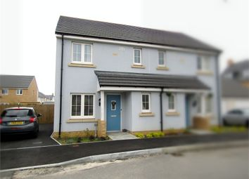 Thumbnail 3 bed semi-detached house for sale in Clos Y Doc, Llanelli, Carmarthenshire