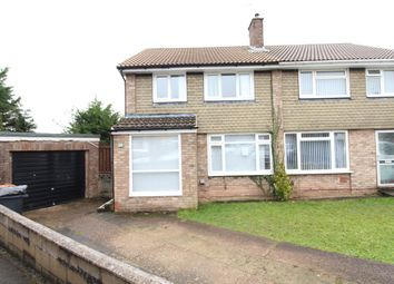 Thumbnail 3 bed semi-detached house for sale in Wistaria Close, Newport