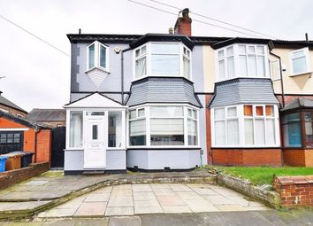 Thumbnail 3 bed semi-detached house for sale in Trenant Road, Salford