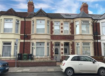 Thumbnail 4 bed terraced house for sale in Grosvenor Street, Canton, Cardiff