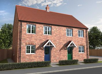 Thumbnail 1 bed semi-detached house for sale in Curtis Drive, Coningsby, Lincolnshire
