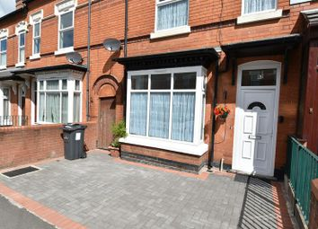 Thumbnail 3 bed terraced house for sale in Esme Road, Sparkhill, Birmingham