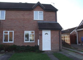 Thumbnail 2 bed semi-detached house to rent in Glebe Close, Mountsorrel, Loughborough