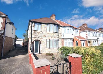 Thumbnail 3 bed semi-detached house for sale in Durham Avenue, Heston