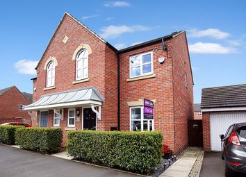 Thumbnail 3 bed semi-detached house for sale in Rennie Drive, Warrington